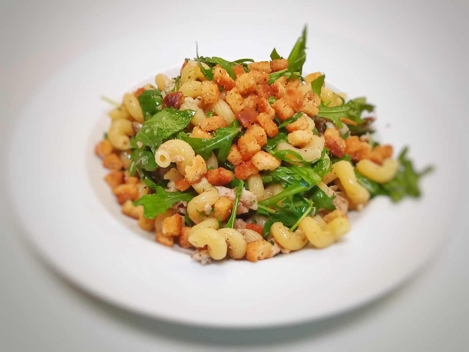 Pasta mit Sardinen und Rucola